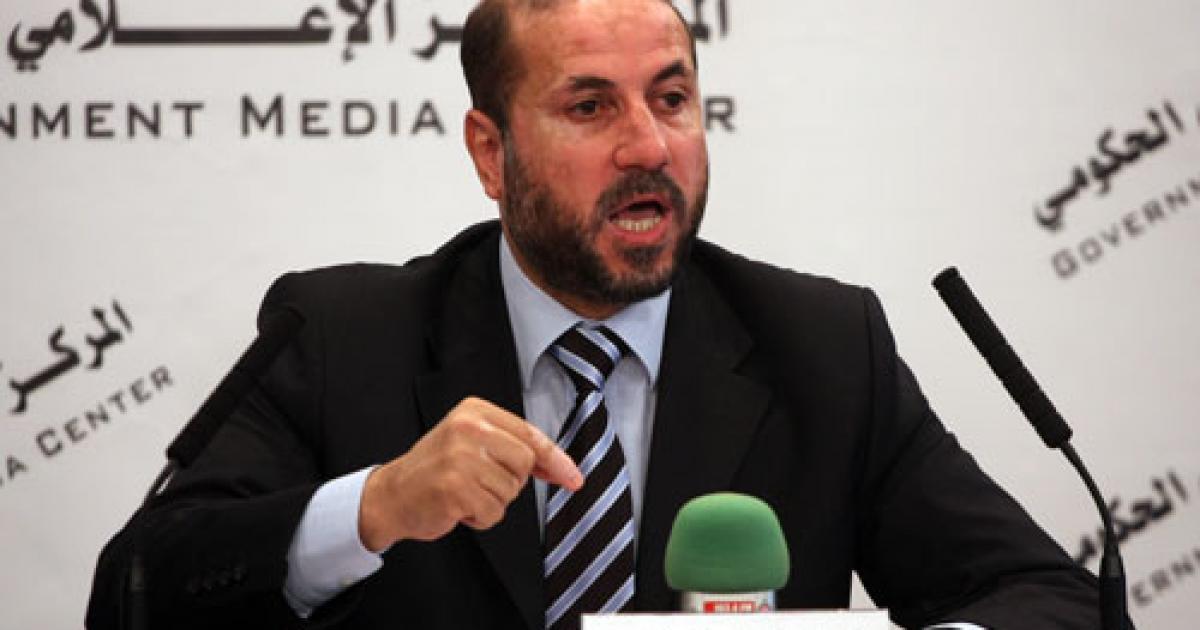 """الهباش: مشروع حماس لإقامة كيان بغزة """"مؤامرة إسرائيلية ..."""