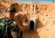 جيش الاحتلال يكتشف نفق على حدود غزة - أرشيفية