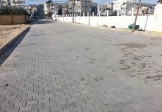 بلدية جباليا النزلة تبدأ في تنفيذ مشروع تطوير شوارع متفرقة في منطقة عجور