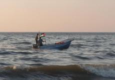 صيادون في بحر غزة - ارشيف