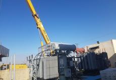 تركيب محول جديد في محطة النبي صالح لتحسين جودة واستقرار التيار الكهربائي
