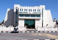 مقر بلدية خانيونس جنوب قطاع غزة