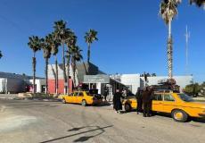 جانب من تنظيم المسافرين عبر معبر رفح البري - أرشيف