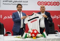 Ooredoo والاتحاد الفلسطيني لكرة القدم تجددان اتفاقية الرعاية