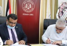 الإسلامي الفلسطيني وجامعة الأزهر يوقعان اتفاقية لتقسيط الرسوم