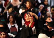 طلبة الجامعات الفلسطينية - أرشيف