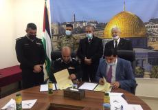 توقيع اتفاقية باعتماد وإطلاق دبلوم علوم الدفاع المدني في جامعة الاستقلال
