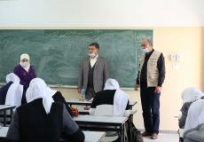 مشاريع قطر الخيرية التعليمية تدعم المدارس في فلسطين