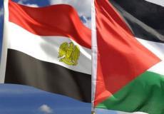 علم فلسطين ومصر