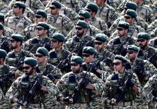 عناصر من الجيش الإيراني خلال تدريبات في أحد القواعد العسكرية في طهران