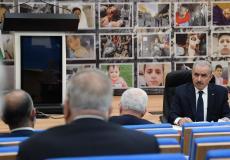 جلسة مجلس الوزراء الفلسطيني الأسبوعية