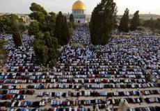 صلاة العيد في المسجد الأقصى