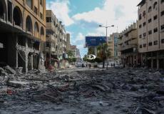 غارة اسرائيلية على مبنى سكني في مدينة غزة