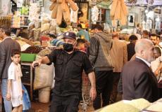الأسواق الشعبية في غزة - أرشيف