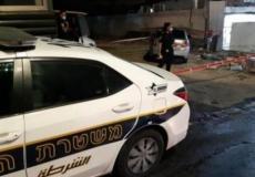 سيارة الشرطة الإسرائيلية