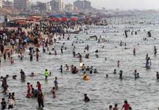بحر غزة هو المتنفس الوحيد للفلسطينيين
