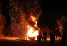 الارباك الليلي في نابلس
