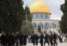 اقتحام المسجد الأقصى - أرشيف