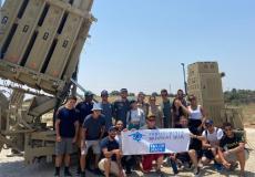 شبان يهود من أمريكا يزورون منظومة القبة الحديدية