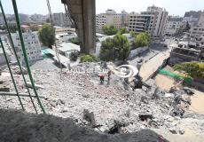 منزل في غزة تعرض لقصف اسرائيلي