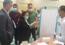 الكيلة توعز بزيادة الكوادر الطبية في مراكز فحص كورونا