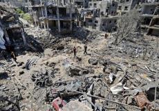 دمار كبير حل بالمنشآت المدنية في غزة خلال العدوان الأخير