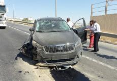 إصابة عضو اللجنة المركزية لحركة فتح خلال حادث سير