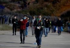 عمال فلسطينيين