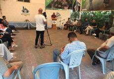 إحياء الذكرى الثالثة عشرة لرحيل الشاعر محمود درويش في غزة