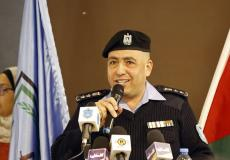 العقيد لؤي ارزيقات - المتحدث باسم الشرطة الفلسطينية