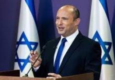 نفتالي بينيت رئيس الوزراء الإسرائيلي