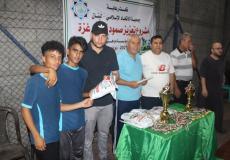 أكاديمية الراحل عيسى ظاهر بطل لبطولة الأكاديميات الأولى شمال غزة
