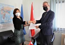 حكومة النمسا توقع اتفاقيات بقيمة 2 مليون يورو لدعم النداء الطارئ للأزمة الإقليمية السورية للأونروا 2021