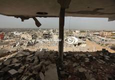 منازل مدمرة كليا في غزة