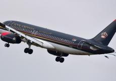 طائرة الملكية الاردنية
