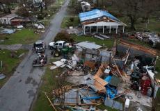 نتائج اعصار آيدا في ولاية نيوجيرسي الأميركية