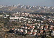 مستوطنة جديدة يجري بناؤها في الخليل - أرشيف