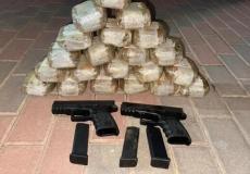 احباط عملية تهريب أسلحة ومخدرات - أرشيف