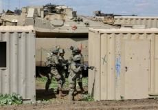 """جنود في وحدة """"أشباح"""" أثناء تدريبات (الجيش الإسرائيلي)"""