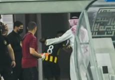 غضب فهد المولد لحظة استبداله أمام الشباب