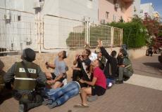 صافرات الانذار في غلاف غزة