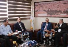 وزارة الداخلية بغزة تستقبل وفدا من الهيئة المستقلة لحقوق الإنسان