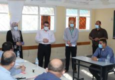 مقابلات الوظائف الصحية بغزة