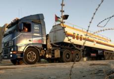 شاحنة غاز قادمة لغزة