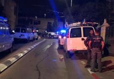 استنفار الشرطة في طرعان