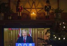 اجتماع رئيس الوزراء البريطاني بوريس جونسون