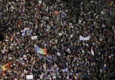مسيرة إسرائيلية للشواذ -ارشيف-