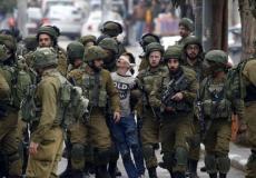 اعتقال الأطفال فى فلسطين - أرشيفية