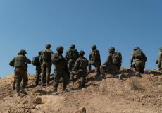 الجيش الإسرائيلي في غلاف غزة