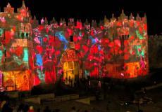 تحضيرات اسرائيلية لإقامة مهرجان الأنوار التهويدي